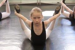 Balettflicka Arkivfoton