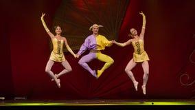 Balettkonstnärer Arkivfoto