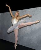 Balettmodell på fotoet 2016 plus internationell expo- och konferenshandelshow Royaltyfri Bild