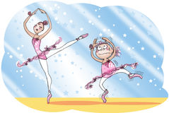 balettskola Royaltyfri Foto