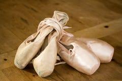 balettskor Royaltyfri Fotografi