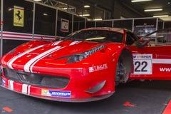 Balfe Motorsport Ferrari 458 Italia GT3 2013 ÖPPEN internationell GT Royaltyfria Foton