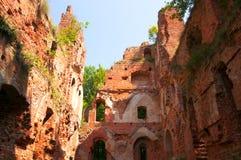 Balga - ruins of medieval castle Stock Photo