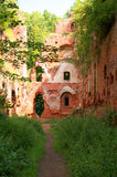 Balga - ruins of medieval castle Royalty Free Stock Images