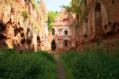Balga - ruins of medieval castle Royalty Free Stock Photos