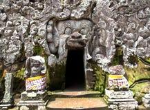 Bali świątyni wejście Zdjęcia Stock