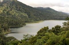 bali Индонесия Солнце горы озера Стоковое Изображение RF