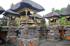 Bali Aga by, Penglipuran, Bali, Indonesien arkivfoton