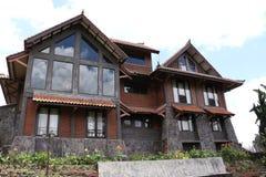 Bali Architecture - Karmel retreat house Stock Image