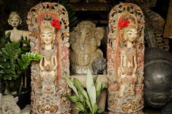 Bali art in indonesia Royalty Free Stock Images