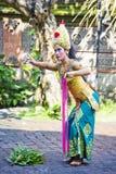bali barongdans indonesia Fotografering för Bildbyråer