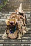 bali barongindonesia lion Arkivfoto