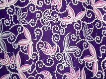 Bali batik pattern. Purple background of bali batik pattern Royalty Free Stock Image