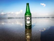 Heineken sunrise Royalty Free Stock Photos