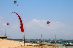 Bali beach. Fun sports ocean Stock Image