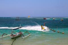 Bali beach. Fun sports ocean Stock Photo