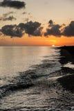Bali Beach Sunrise Stock Images
