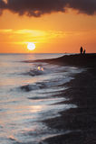 Bali Beach Sunrise Royalty Free Stock Photo
