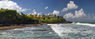 Bali beaches. A view from the beaches on the island of Bali royalty free stock photography