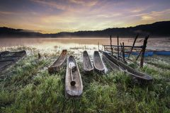 Bali, Beautiful, Boats Royalty Free Stock Images