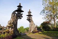 bali besakih gelap Indonesia pura Zdjęcia Royalty Free