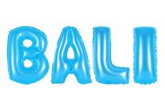 Bali, blaue Farbe Stockfoto