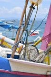 Bali Boat, Sailing, Colorful boat royalty free stock photography