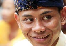 Bali-Bräutigam Stockbild
