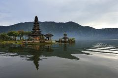 Bali Bratan lake Stock Photography