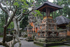 Bali buildings, parks and traveling Royalty Free Stock Images
