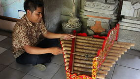 Bali busker. Editorial Royalty Free Stock Photography