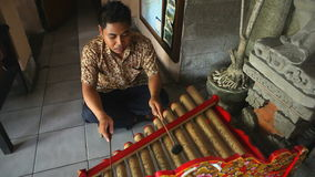 Bali busker. Editorial Stock Photo