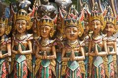 Bali-Carvings lizenzfreie stockfotos