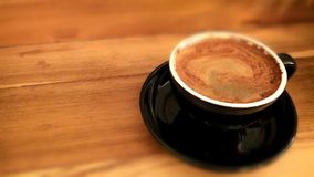 The Bali Coffee. Blackcoffee in the morning Royalty Free Stock Image