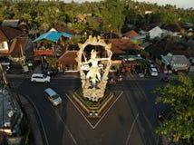 Bali crosspoint royalty free stock photos