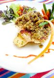 bali cukierniana naczynia ryba zdjęcie royalty free