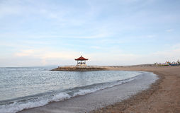 Bali. Culture of Indonesia, coastline in Sanur Stock Image