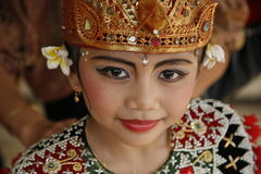 Bali dancer Royalty Free Stock Photo