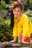 Bali  Dancer Girl Stock Image