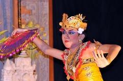bali dansarelegong Royaltyfri Foto