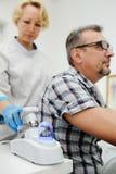 bali Diagnostikhår och skalperar Arkivbilder