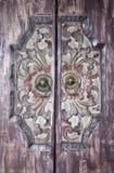 Bali door Stock Image