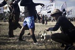 Bali drakefestival Arkivfoton