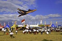 Bali drakefestival Arkivbild
