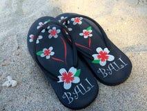 Bali flipflopes Royaltyfri Bild