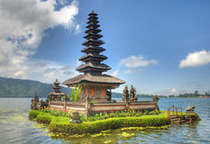 Bali Floating Temple Royalty Free Stock Photo