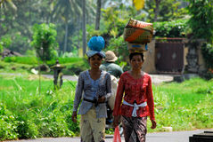 Bali-Frauen Stockfotografie