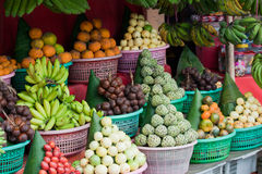 bali fruktstall Royaltyfria Bilder