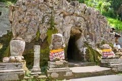bali gajah goa Indonesia świątyni ubud fotografia royalty free