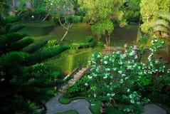 Bali-Garten Stockbild
